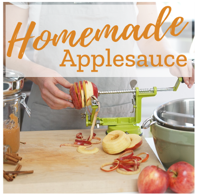 Homemade Applesauce? Easier than you think!