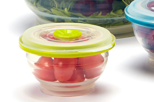 Collapsible Silicone Food Storage Collection