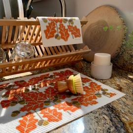 Swedish Drying Mat + Dish Cloth Set