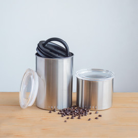 Airscape Stainless Steel Storage Canister Set