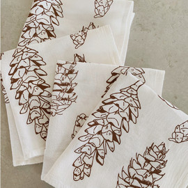 Pinecones Cocktail Napkin, Set of 4