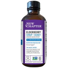 Elderberry Syrup + Honey