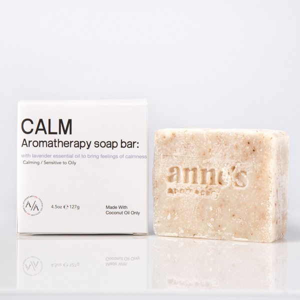 Calm Coconut Oil Aromatherapy Soap