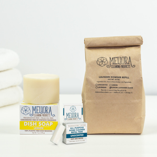 Zero Waste Cleaning Refill Kit