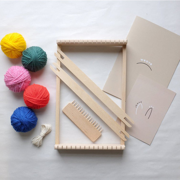 Handmade Weaving Loom Kit