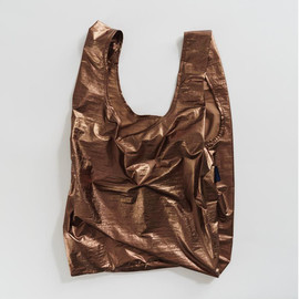 Reusable Shopping Bag, Metallic Copper