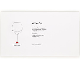 Wool Wine-O Glass Markers