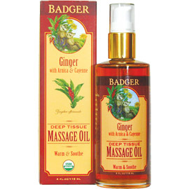 Ginger Deep Tissue Massage Oil