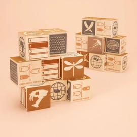 Fossil Wooden Blocks Set