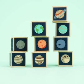 Planet Wooden Blocks Set