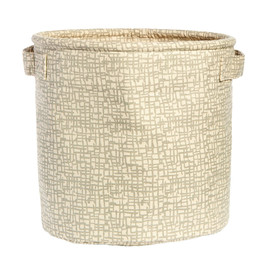 Cotton Canvas Storage Bin, Medium