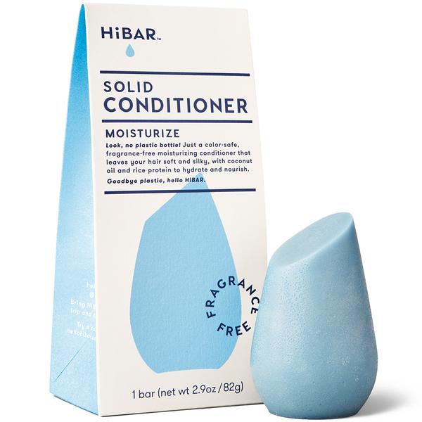 Moisturize Fragrance-Free Solid Conditioner Bar