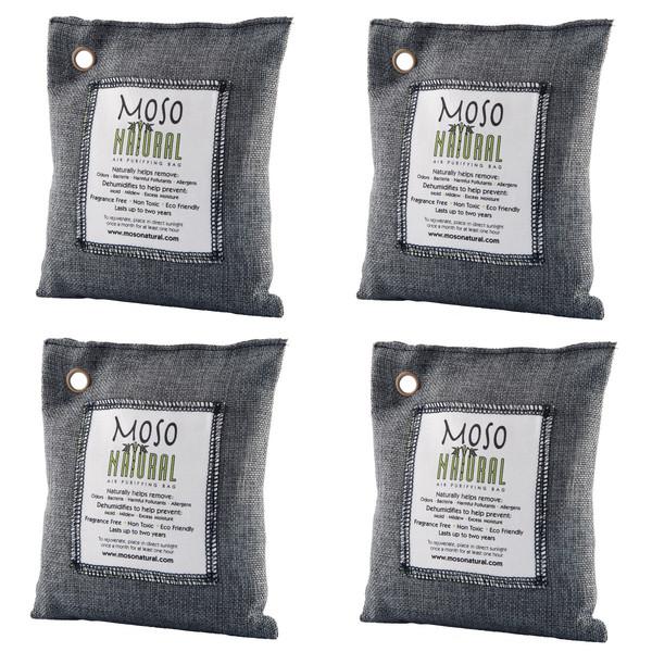 Natural Air Purifying Bags, Set of 4