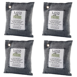 Natural Air Purifying Bags, Set of 4