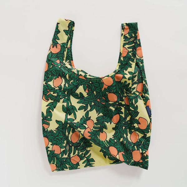 Reusable Shopping Bag, Orange Tree