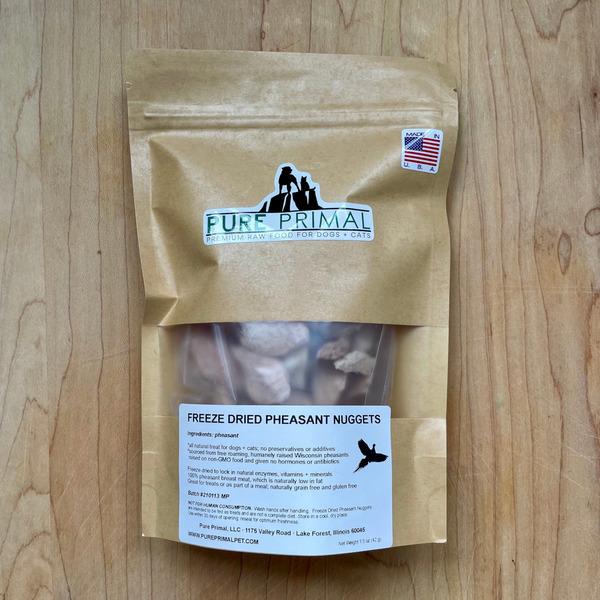 Freeze Dried Pheasant Nugget Pet Treats