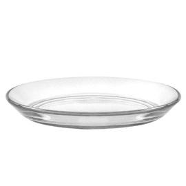 Lys Clear Club Plate, 5 inch