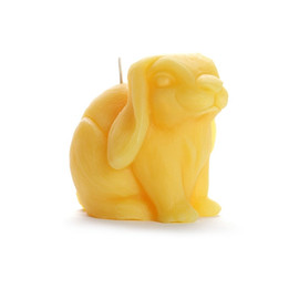 Bunny Rabbit Beeswax Candle