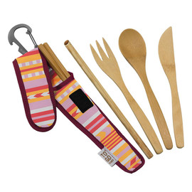Premium Bamboo RePETe Utensil Set