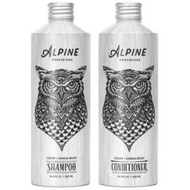 Cedar+Sandalwood Shampoo & Conditioner