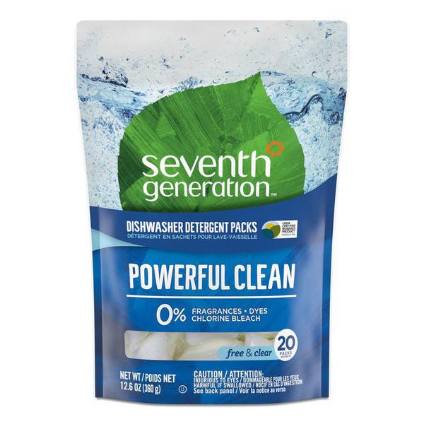 Unscented Dishwasher Detergent Packs