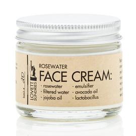 Rosewater Face Cream