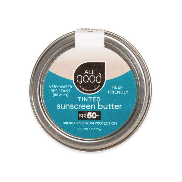 Tinted Mineral Sunscreen Butter Tin, SPF 50