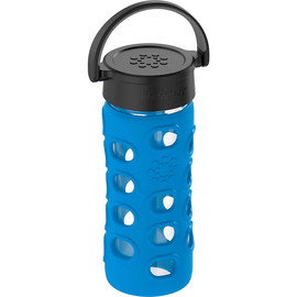 12oz Glass Water Bottle with Silicone Sleeve