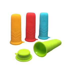 Little Bites Silicone Ice Pop Molds (set of 4)