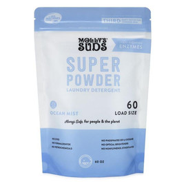 Super Powder Laundry Detergent with Enzymes, 60 Load