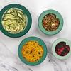 Food Huggers Glass Lids - Set of 4