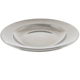 """Stainless Steel Plate, 9"""""""