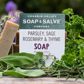 Parsley, Sage Rosemary and Thyme Bar Soap