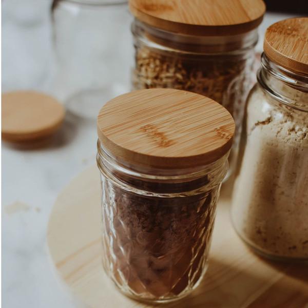 Bamboo Jar Lid
