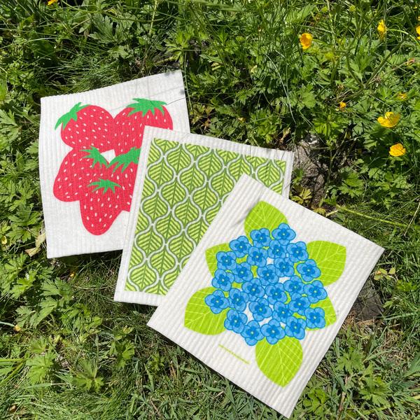 Swedish Dishcloth Set of 3, Fresh Summer Picks