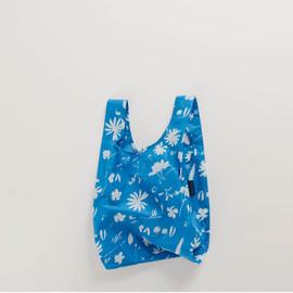 BABY Reusable Shopping Bag, Floral Sun Print Blue