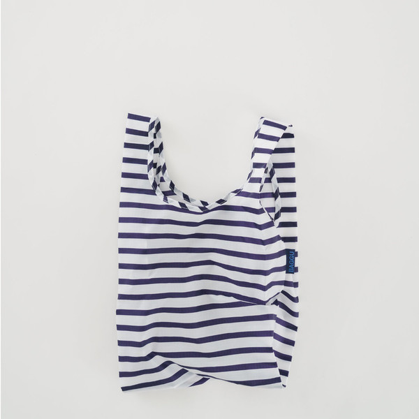BABY Reusable Shopping Bag, Sailor Stripe