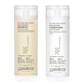 Tea Tree Triple Treat Invigorating Shampoo and Conditioner