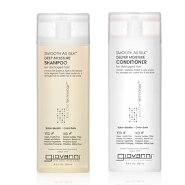 Smooth as Silk Deep Moisture Shampoo and Conditioner