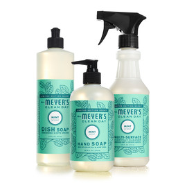 Dish Soap, Hand Soap + Multi Surface Spray Set, Seasonal Scents