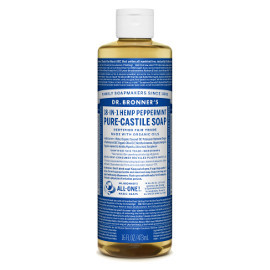 18-in-1 Hemp Peppermint Pure-Castile Soap, 16oz