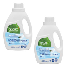 Liquid Laundry Detergent, Free & Clear