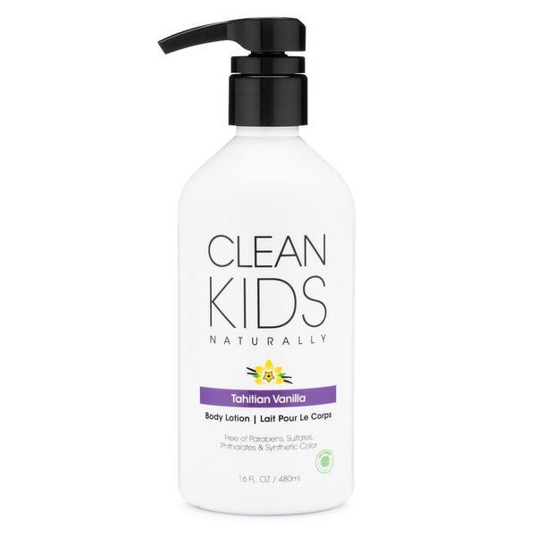 Clean Kids Naturally Tahitian Vanilla Lotion, 16 oz.