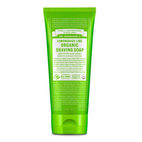 Organic Shaving Soap, 7oz