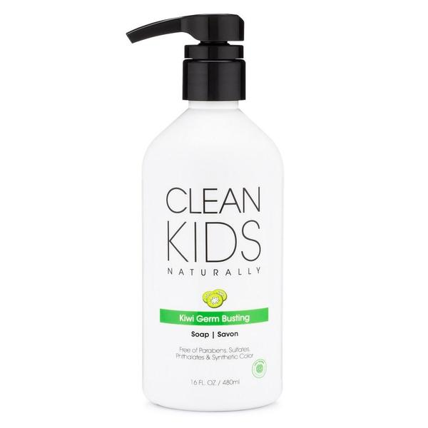 Clean Kids Naturally Kiwi Germ Busting Soap