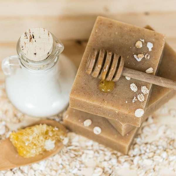 Goat Milk Oatmeal Bar Soap
