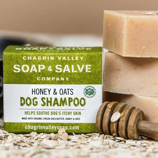 Honey & Oats Dog Shampoo Bar