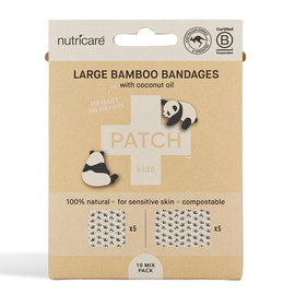 Large Bamboo Bandages with Coconut Oil