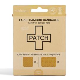 Large Natural Bamboo Bandages