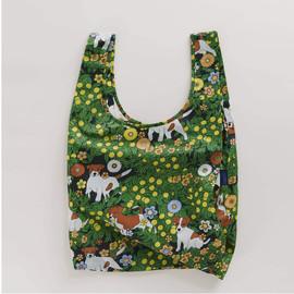 Reusable Shopping Bag, Chamomile Terrier